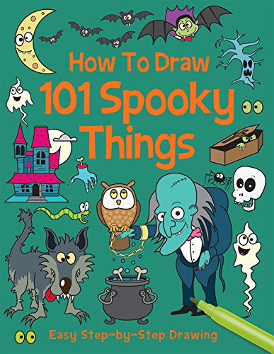 How to Draw 101 Spooky Things -
