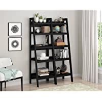 Altra Metal Ladder Bookcase, Set of 2, Black 9482096