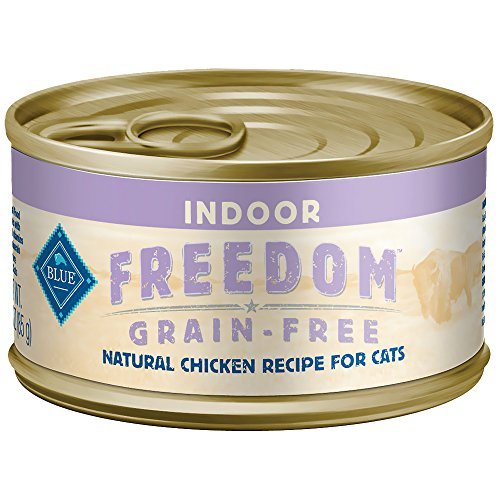 Blue Buffalo Indoor Cat Chicken Entree Wet Food, 5.5 oz Can,