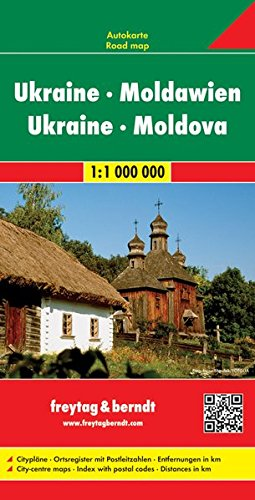 Ukraine - Moldavia Road Map (Road Maps) (English, French, Italian, German and Ukrainian Edition)