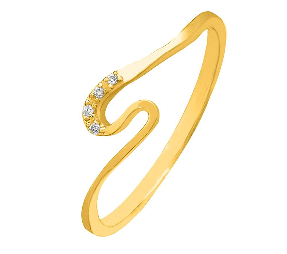 Sparkles Gold and Diamond Ring