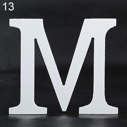 Amazoncom Aland Creative Thick Wooden Letters Alphabet Wedding