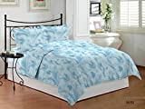 Bombay Dyeing Premium Cotton Double Bedsheet With 2 Pillow Covers Packed in a Gift Box From Bombay Dyeing's Golden Moments Collection