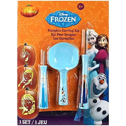 Gemmy Disneys Frozen Pumpkin Carving Set