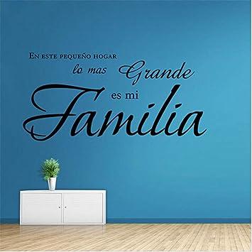 Citas francesas Pegatinas de pared de vinilo Las Reglas de la felicidad Paredes de vinilo Calcomanías Decoración para el hogar Decoración de la pared Arte de la pared 57 * 57 cm: