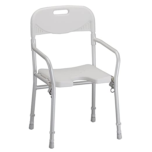 Nova Chair- Foldable with Arms White