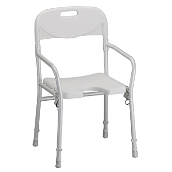 Amazon.com: NOVA Medical Products Shower Chair, Foldable with Arms ...
