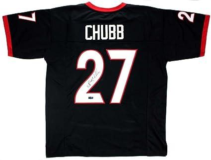 nick chubb signed jersey