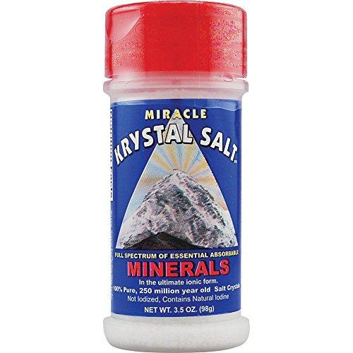 (Klamath Blue-Green Miracle Krystal Salt - 3.5 oz )