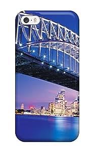 Susan Rutledge-Jukes's Shop Special Design Back Amazing Sydney Bridge Phone Case Cover For Iphone 5/5s 4355881K71954760