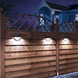 OTHWAY Solar Fence Post Lights Wall Mount