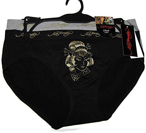 Ed Hardy 2-Pack Geisha Bikini Women's Underwear