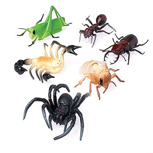 U.S. Toy Assorted Realistic Insect Bug Toy Figures 4
