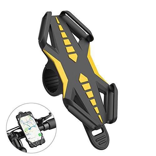 Bike Phone Holder, GVDV Universal Anti-Slip Adjustable Bicyc