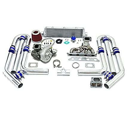 Amazon.com: High Performance Upgrade T04E T3 T25 9pc Turbo Kit - 4A-FE Engine: Automotive
