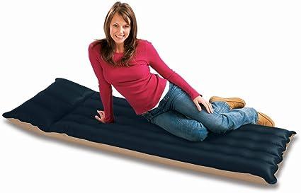 Amazon.com: Colchón para camping con tela inflable de ...