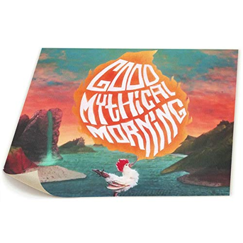 OYE Good Mythical Morning Picture Photo Printed On Canvas Wall Art Paintings Without Framed for Living Room Bedroom Wall Or Table Decorate