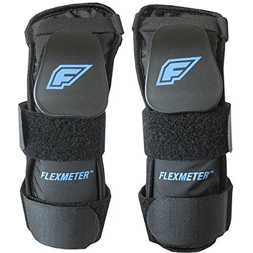 Demon Snow Flexmeter Wrist Guard - Double Black, M