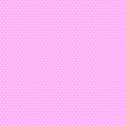American Crafts Core'dinations 12 Pack of 12 x 12 Inch Patterned Paper Light Pink Small Dot, ()