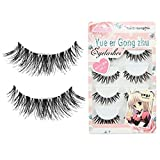 CJESLNA New 5 Pair Thick Crisscross Long False Eyelashes Fake Eye Lashes Voluminous Makeup