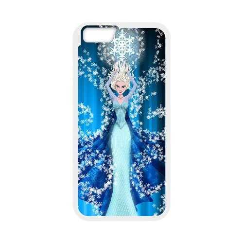 Elsa Frozen 004 coque iPhone 6 Plus 5.5 Inch Housse Blanc téléphone portable couverture de cas coque EOKXLLNCD16919