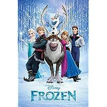 (24x36) Disney Frozen Teaser Movie Poster