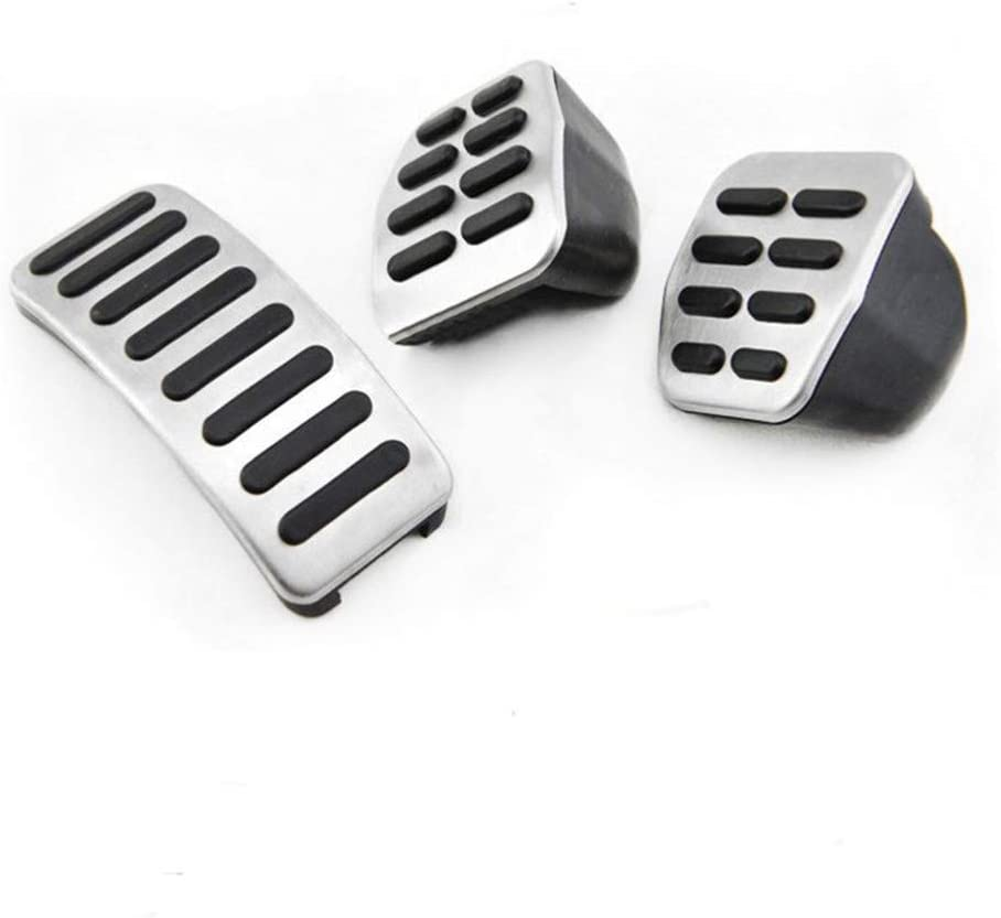 For Audi A3,For VW Polo 6N 9N 6R jetta MK4 YXNVK Stainless steel Car pedal Cover For Skoda Fabia,For Seat Ibiza 6K//6L//6J//Seat Leon