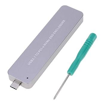 Homyl Adaptador NVME A USB, Tarjeta M.2 SSD Tipo C De 10 Gbps con ...