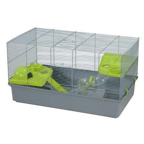 VOLTREGA Jaula Hamster Ruso 138 Gris 1 Unidad 500 g: Amazon.es ...