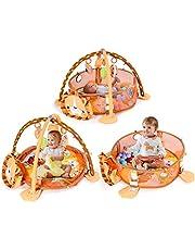 COSTWAY Spieldecke Spielbogen Krabbeldecke Erlebnisdecke Spielmatten Babydecke Laufstall ab 0 Monaten