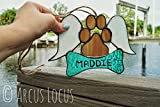 Pet Memorial Suncatcher Stained Glass Ornament
