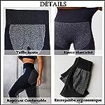 STARBILD-Legging-Sportivi-per-Donna-Anti-Cellulite-Vita-Alta-Pantaloni-Compressione-Slim-Push-Up-Yoga-Fitness