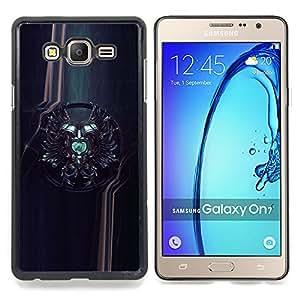 GIFT CHOICE / Teléfono Estuche protector Duro Cáscara Funda Cubierta Caso / Hard Case for Samsung Galaxy On7 O7 // Sci Fi Crest //