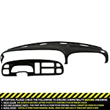 DashSkin Molded Dash & Bezel Cover Kit Compatible with 99-01 Dodge Ram in Black