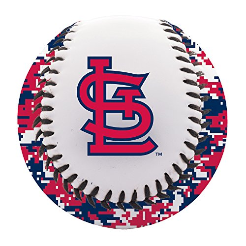 (Franklin Sports St. Louis Cardinals Baseball Teeball - Soft Strike - Digi Camo Graphic PVC Cover - Soft Core - MLB Official Licensed Product)