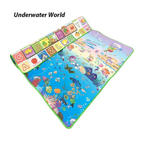 Amazon.com: FairOnly Baby Toy Crawling Puzzle Thin Play Mats ...