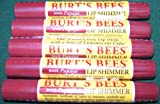 Burt's Bees Natural Makeup Papaya Lip Shimmer 0.09 oz. (Pack of 5)