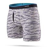 Stance Men's Camo Dots Combed Cotton Boxer Brief Underwear (Tan, Large)
