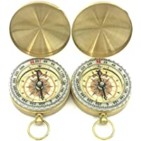 PANOVO (2Pcs) Camping Compass ,Glow in the Dark surviv-Compass Military Tool,Great Toy Compass for kids,children. pocket watch compass
