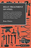 img - for Heat-Treatment of Steel: A Comprehensive Treatise on the Hardening, Tempering, Annealing and Casehardening of Various Kinds of Steel, Including High-speed, ... Furnaces and on Hardness Testing book / textbook / text book
