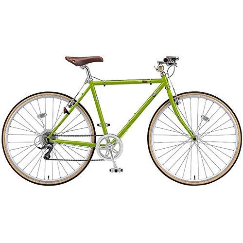 ブリヂストングリーンレーベル(BRIDGESTONE GREEN LABEL) クロスバイク クエロ(CHeRO) 700C(8段) E.Bティーグリーン 510mm CF7516 B017CHRRTU