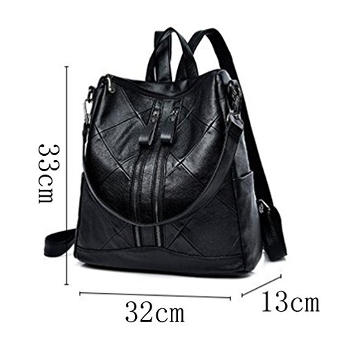 Backpack Sewing Backpack Bag Bag Blackwithgreen Couture Women's Fashion OqUYO