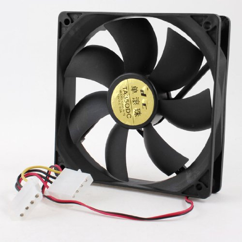 4 Pins PC Computer CPU Case Cooler Cooling Fan 12x12cm 12V DC 0.2A