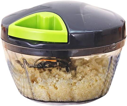 Compra Duan hai rong DHR- Mandolinas máquina de Cortar Manual Multi-función de Cortar Robot de Cocina for Picar Carne Twisted Verduras de Cortar la máquina Amoladora ajo Relleno del hogar (Talla :