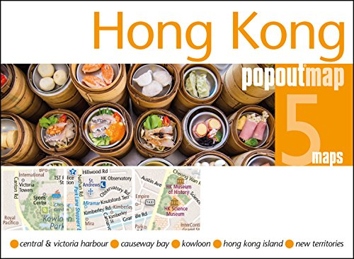 Hong Kong PopOut Map (PopOut Maps)...