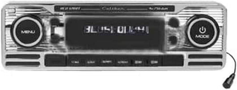 Caliber Rcd120bt Retro Look Radio Mit Bluetooth Chrome Elektronik