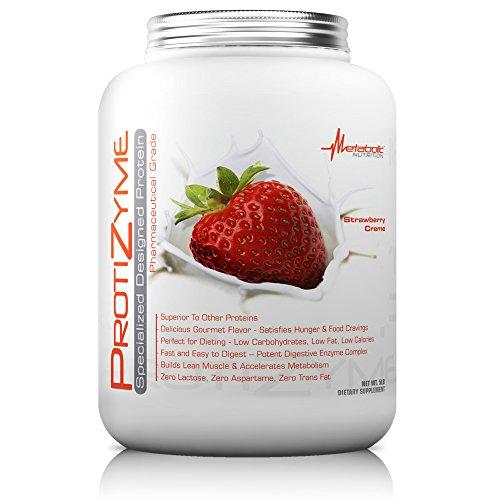 - Metabolic Nutrition Protizyme, Strawberry Creme, 5 Pound