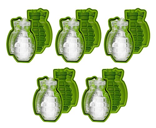 Fairly Odd Novelties FON-10270-5PK Ice Cube Mould, Green