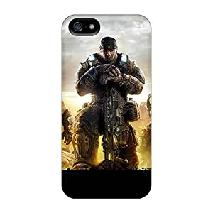 IanJoeyPatricia Iphone 5/5s Great Hard Phone Case Unique Design Trendy Gears Of War 3 Image [rbi18963cAFM]