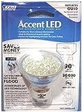 Accent LED JDR Type EXN Medium Flood 2W 120V GU10 Twist-Lock Base BPMR16/GU10/LED